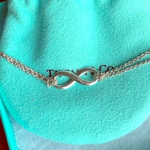 Tiffany & Co. Infinity Sterling Silver Necklace
